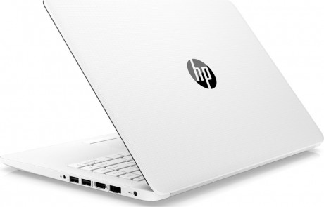 HP 14 Stream 14 Intel Celeron Laptop - 64 GB eMMC, White